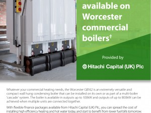 Finance Now Available for Commercial Boilers