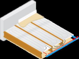 Underfloor-heating-modular-heating-panels